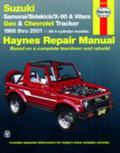 Suzuki Samurai, Sidekick, X90, and Vitara; Geo/Chevrolet Tracker (Haynes Manuals)