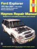 Ford Explorer: Haynes Repair Manual 1991-2001