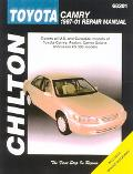 Chilton Toyota Camry 1997-01 Repair Manual