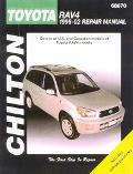 Chilton Toyota Rav4 1996-02 Repair Manual