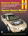 General Motors Automotive Repair Manual Buick Regal, Chevrolet Lumina, Olds Cutlass Supreme,...