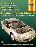 Chrysler Lhs, Concorde, 300m Dodge Intrepid 1998 Thru 2003 All Models