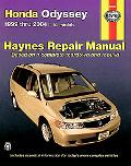 Honda Odyssey 1999 Thru 2004 Automotive Repair MAnual