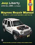 Jeep Liberty Automotive Repair Manual 2002 Thru 2004