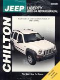 Jeep Liberty, 2002-2004 Repair Manual Covers All US And Canadian Models Of Jeep Liberty