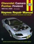 Chevrolet Camaro & Pontiac Firebird Automotive Repair Manual All Chevrolet Camaro And Pontia...