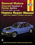 General Motors Chevrolet Cavalier & pontiac Sunfire Automotive Repair Manual, 1995-2004