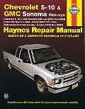 Chevrolet S-10 And Gmc Sonoma Pick-ups, Chevrolet Blazer And Gmc Jimmy, Oldsmobile Bravada A...