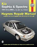 Kia Sephia & Spectra Automotive Repair Manual 1994 Thru 2004 1.6l And 1.8l Models