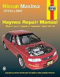 Nissan Maxima Automotive Repair Manual 1993 Thru 2004