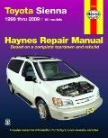Toyota Sienna 1998 thru 2009: All Models (Hayne's Automotive Repair Manual)