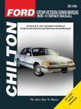 Chilton Ford Crown Victoria 1989 - 10 Repair Manual