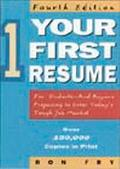 Your First Resume