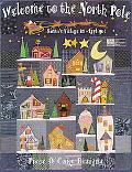 Welcome to the North Pole Santa's Village in Applique