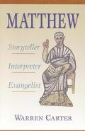 Matthew:storyteller,interpreter,evan.