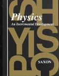 Physics An Incremental Development