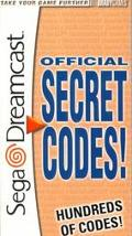 Secret Codes for Sega Dreamcast