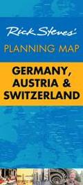 Rick Steves' Planning Map Germany, Austria, and Switzerland