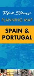 Rick Steves' Planning Map Spain and Portugal