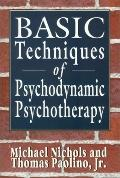Basic Techniques of Psychodynamic Psychotherapy