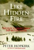 Like Hidden Fire: The Plot to Bring Down the British Empire - Peter Hopkirk - Hardcover