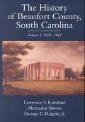 History of Beaufort County, South Carolina 1514-1861