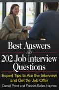 Best Answers to 202 Job Interview Questions