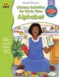 Literacy Activities for Circle Time Alphabet