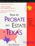 How to Probate an Estate in Texas With Forms