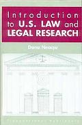 Introduction to US Law and Legal Research
