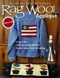 Rag Wool Applique Easy to Sew  Use Any Sewing Machine  Quilts, Home Decor, and Clothing