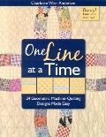 One Line at a Time: 24 Geometric Machine-Quilting Designs Made Easy