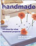 Simple Handmade Furniture 23 Step-By-Step Weekend Projects