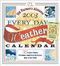 2003 Old Farmer's Almanac Weather