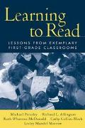 Learning to Read Lessons from Exemplary First-Grade Classrooms