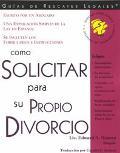 Como Solicitar Su Propio Divorcio Con Formularios