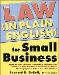 Law (In Plain English) for Small Business