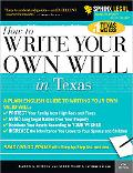 Write Your Own Texas Will