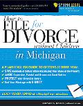 File for Divorce in Michigan Without Children
