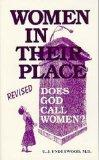 Women in Their Place: Does God Call Women? - U. J. Underwood - Paperback