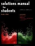 Solutions Manual for Students Vols 2 & 3 Chapters 22-41: to Accompany Physics for Scientists...