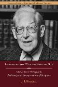 Shorter Writings of J. I. Packer, Vol. 3