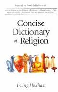 Concise Dictionary of Religion