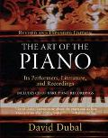 Art of the Piano Its Performers, Literature and Recordings