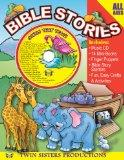 Bible Stories 96pg. Workbook & Music CD Set (Early Childhood Learning, 4)