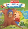 Who Lives Here? - Mary Packard - Board Book - BOARD