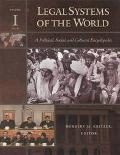 Legal Systems of the World A Political, Social, and Cultural Encyclopedia