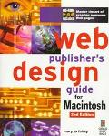 Web Publishers Design Gde.f/mac.-w/cd