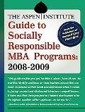 Aspen Institute Guide to Socially Responsible MBA Programs