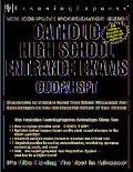 Catholic High School Entrance Exams Coop/ Hspt